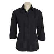 Biz Collection Women's Manhattan ¾ Sleeve Shirt (FB-LB8425)