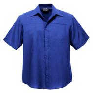Biz Collection Men's Plain Oasis Short Sleeve Shirt (FB-SH3603)