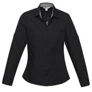Biz Collection Women's Bondi Long Sleeve Shirt (FB-S306LL)