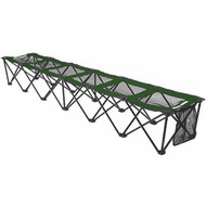 8 foot Portable Bench (holds 6 people) - Forest