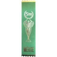 French Award Ribbons Mérite 5th- (ea)
