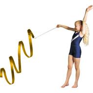 3 m Junior Gymnastic Ribbon - Gold