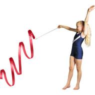 3 m Junior Gymnastic Ribbon - Red