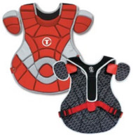 "TAG Pro Series 17"" Chest Protector - Red"