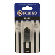 FOX 40 Whistle Pearl Official-Black (9700-0008)