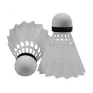 TAG White Nylon Badminton Shuttles