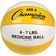 6 lb Leather Medicine Ball