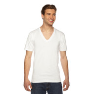 American Apparel Unisex Fine Jersey Short-Sleeve V-Neck T-Shirt (AS-2456W)