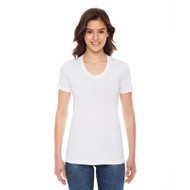 American Apparel Ladies' Poly-Cotton Short-Sleeve Crewneck (AS-BB301W)