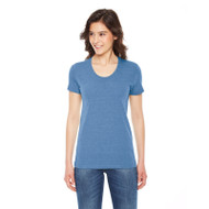 American Apparel Ladies' Triblend Short-Sleeve Track T-Shirt (AS-TR301W)