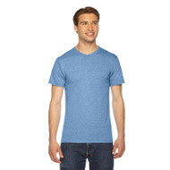 American Apparel Unisex Triblend Short-Sleeve Track T-Shirt (AS-TR401W)