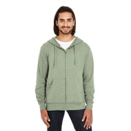 Threadfast Unisex Triblend French Terry Full-Zip Hoodie (AS-321Z)