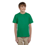 Gildan Youth Ultra Cotton Crew Neck Short Sleeve T-Shirt (AS-G200B)