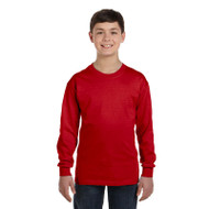 Gildan Youth Heavy Cotton Long-Sleeve T-Shirt (AS-G540B)