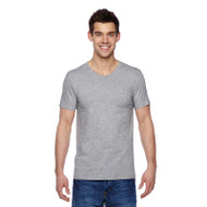 Fruit of the Loom Adult Sofspun Jersey V-Neck T-Shirt (AS-SFVR)