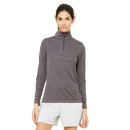 All Sport Ladies' Quarter-Zip Lightweight Pullover (AS-W3006)