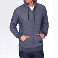 Next Level Adult Denim Fleece Full-Zip Hoody (AS-9600)