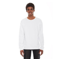American Apparel Unisex Flex Fleece Drop Shoulder Pullover Crewneck (AS-F496W)