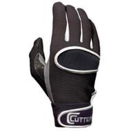 Cutters Receivers Gloves - Black -L (C017-BK-L)