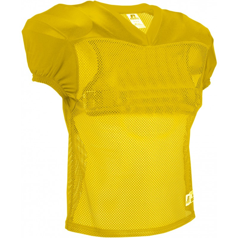 606f7dd34 Russell Practice Football Jersey - Gold - 3XL- Football Practice ...