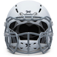 X1 Football Helmet - White (03000) - M (Snug/Thick) (X1-WH-MT)