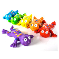 Rainbow Rubber Frog Set of 6 (AFR6S)