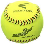 """Easton 11"""" Yellow Softstitch Baseball (A122608T)"""