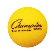 "2 3/4"" Yellow Foam Tennis Ball"