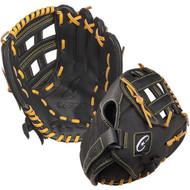 """10"""" Baseball P.E. Glove, Nylon Back/Leather Front, Regular"""