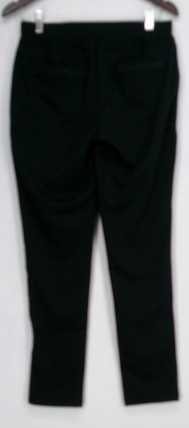 Nancy O'Dell Leggings Sz S Mixed Media Pull On Stretch Black Womens