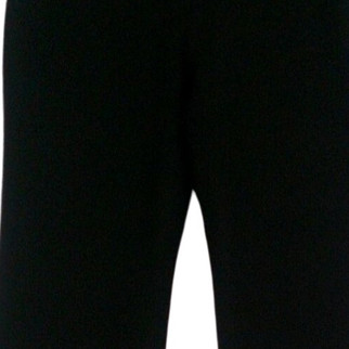 Iman Pants 2 Curve Appeal Front Zippered Back Pocketed Jet Black Womens 431-786