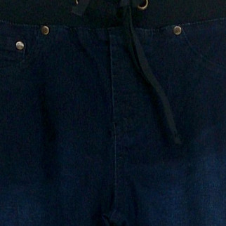 Diane Gilman Jeans XS Pull-On Slim Leg w/ Faux Front Pockets Blue Womens 421-054