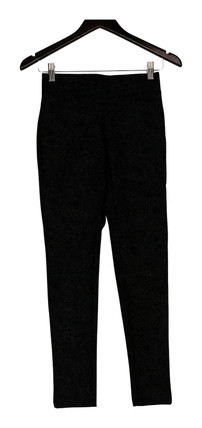 Slimming Options by Kate Mallory Leggings XS High Density Knit Gray A427539