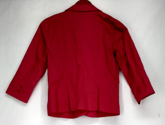 Joan Rivers Classics Coll. Basic Jacket 2 3/4 Slv Button Closure Pink A272788