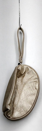Madi Claire Handbag Sz S Upsell Cosmetic Case w/ Wrist Strap Ivory S419751