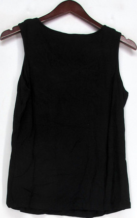 M by Marc Bouwer Sz S Lace-Up Detail Tank Top Black a212499
