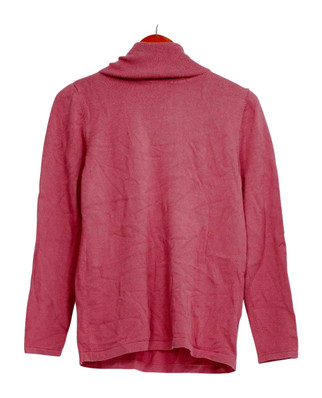Joan Rivers Sweater Sz XS Wardrobe Builders Classic Knit Pink A295940