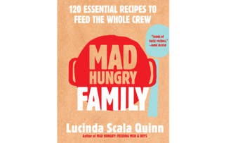 """""""Mad Hungry Family"""" Cookbook by Lucinda Scala Quinn F12381"""