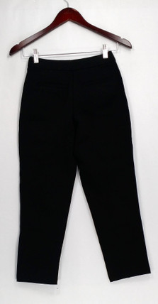 Joan Rivers Petite Size Pants XXSP with Front Seam Details Black