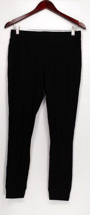 Anybody Leggings Sz XXS Loungewear Cozy Waffle Knit Pull-on Black A297423