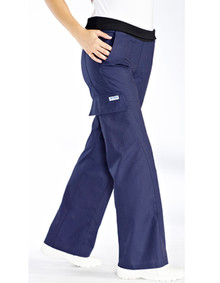 416P - Women pants Blue