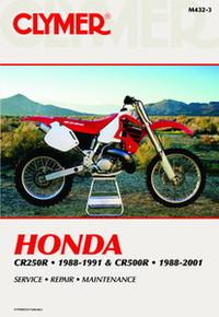 Honda Repair Manual (Clymer)  CR250R/500R