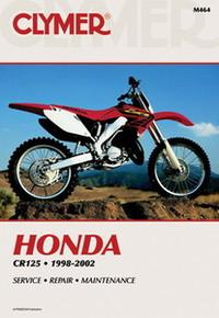 Honda Repair Manual (Clymer) 98-02 CR125R
