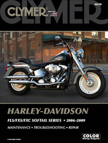 Harley Manual Clymer 06-09 FLS/FXS/FXC Softail