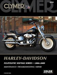Harley Manual Clymer 06-09 FLS/FXS/FXC Softail