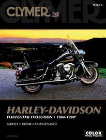 Harley Manual Clymer 84-98 FLT/FXR Big Twin