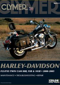 Harley Manual Clymer 00-05 FLST/FXST Softail