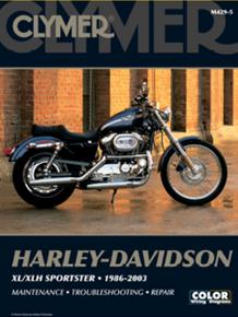Harley Manual Clymer 86-03 XL/XLH Sportster