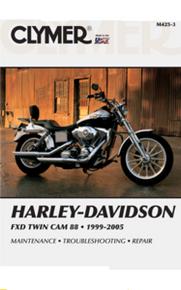 Harley Manual Clymer 99-05 Dyna Twin Cam 88