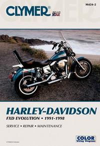 Harley Manual Clymer 91-98 Dyna Glide